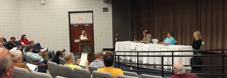 Public Testifies at Public Hearing on Expansion of Sunoco's Mariner East Pipeline